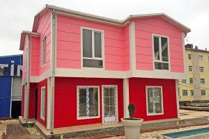 prefabricated villas prices