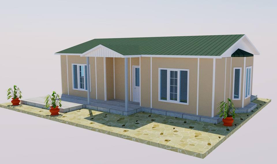 casas pré fabricadas baratas