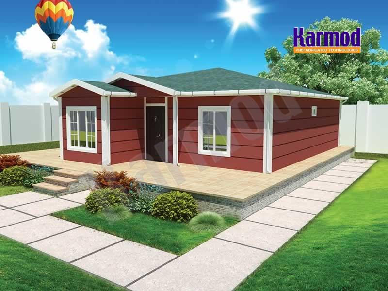 casas pré-fabricadas viviendas