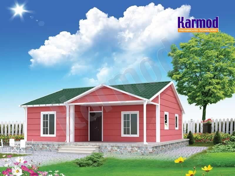 Casas prefabricadas viviendas prefabricadas karmod - Casas prefabricadas low cost ...
