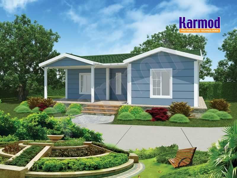 Low cost prefab housing africa affordable prefabricated houses karmod - Casas prefabricadas low cost ...
