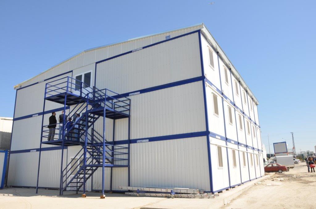 Prefabricated construction site buildings karmod for Prefab units