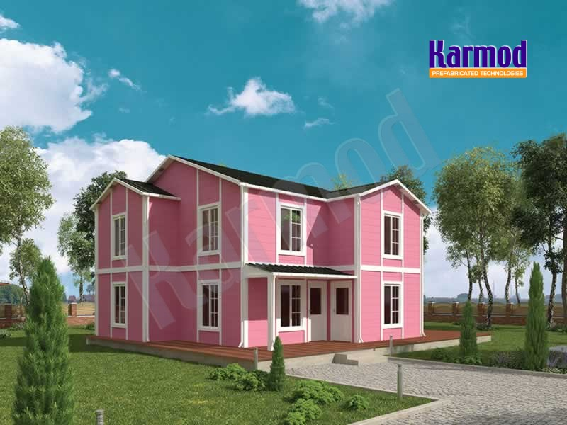 Prefabricated villa turkey