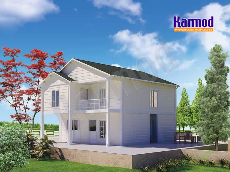 prefabricated villas manufacturers