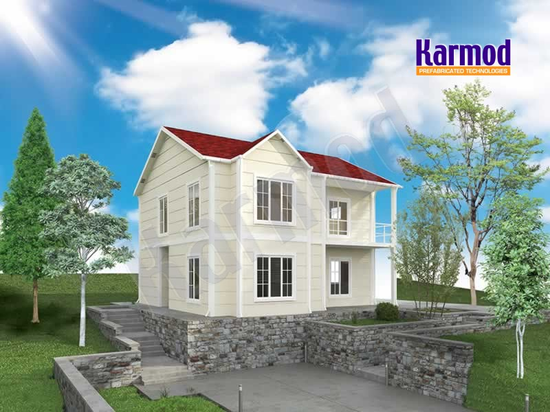 prefabricated villas prices