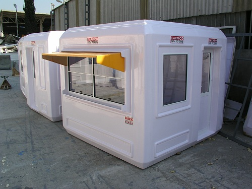 frp guard booth
