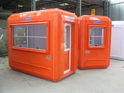 Modular Office Cabins And Bullet Resistant Security