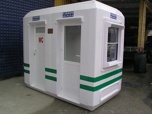 FRP Sentry Box