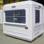 Commercial prefab kiosks