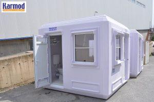 fibreglass security guard huts