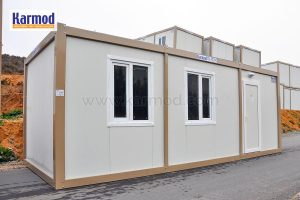 flat pack container building