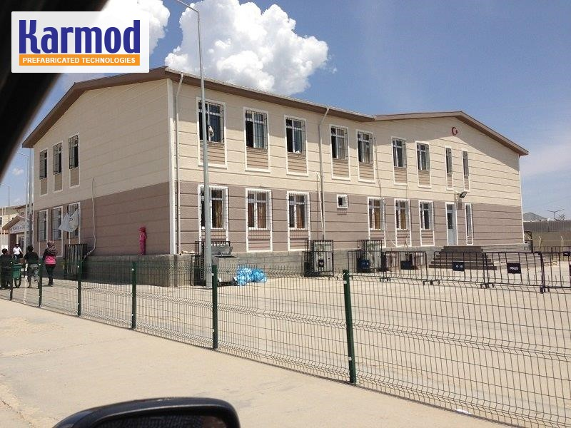 prefabricated building uae