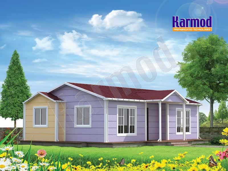 Modular home buildings
