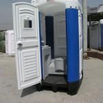 polyethylene toilet