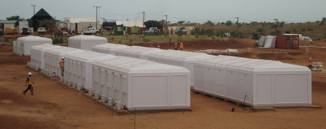 prefab social housing africa