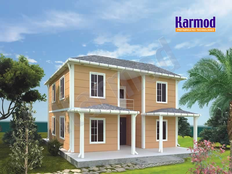 prefabricated villas
