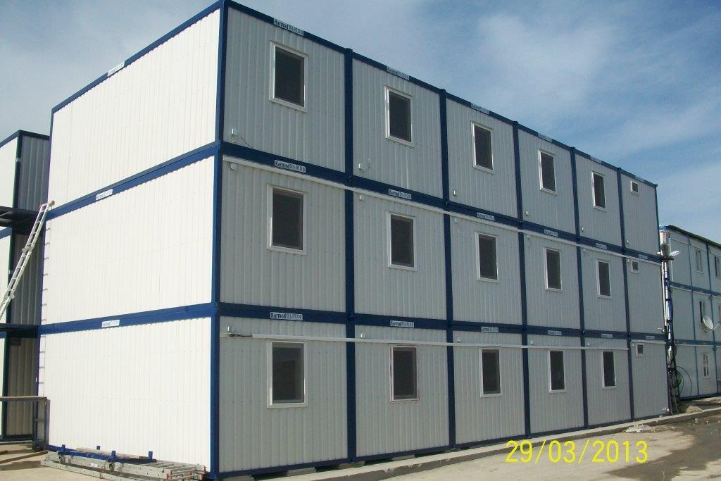 worker camp buildings