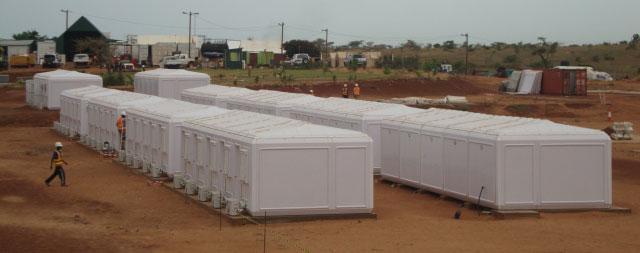 modular cabin camps