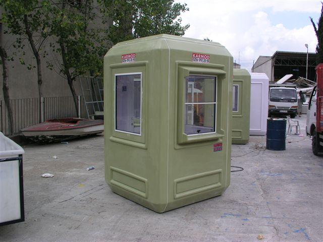 modular kiosk cabin