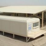 porta cabins and caravan