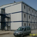 portable containers housing