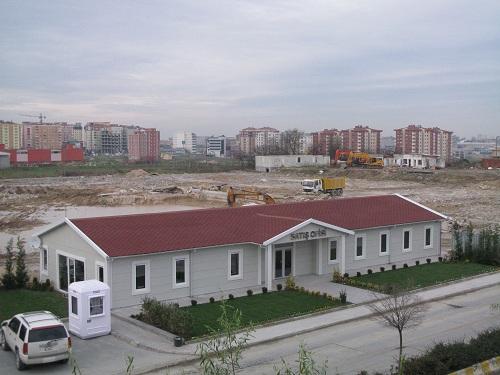 prefab modular camp