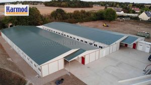 school buildings with modular systems