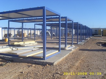 storage container camps