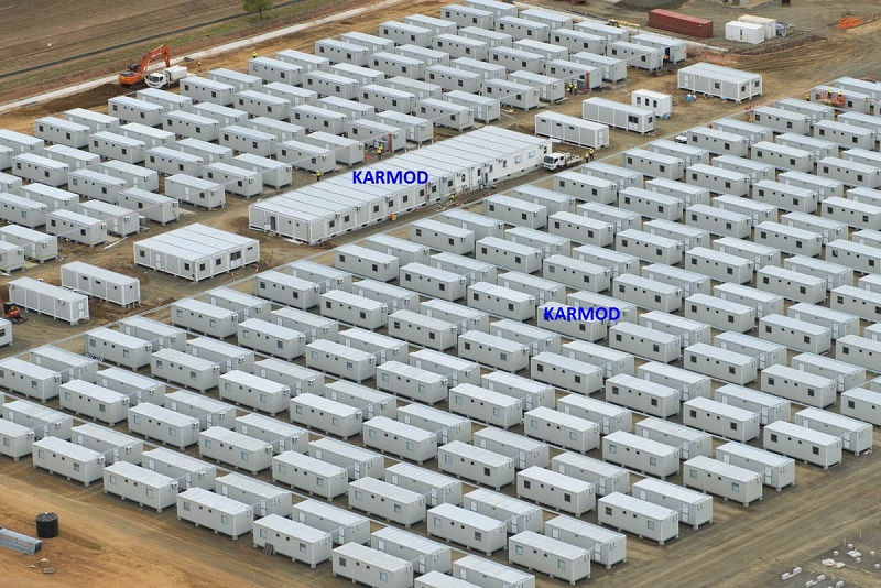 Army Camp Containers,