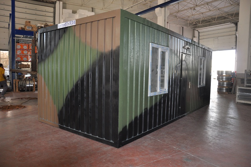 Army Container Camp