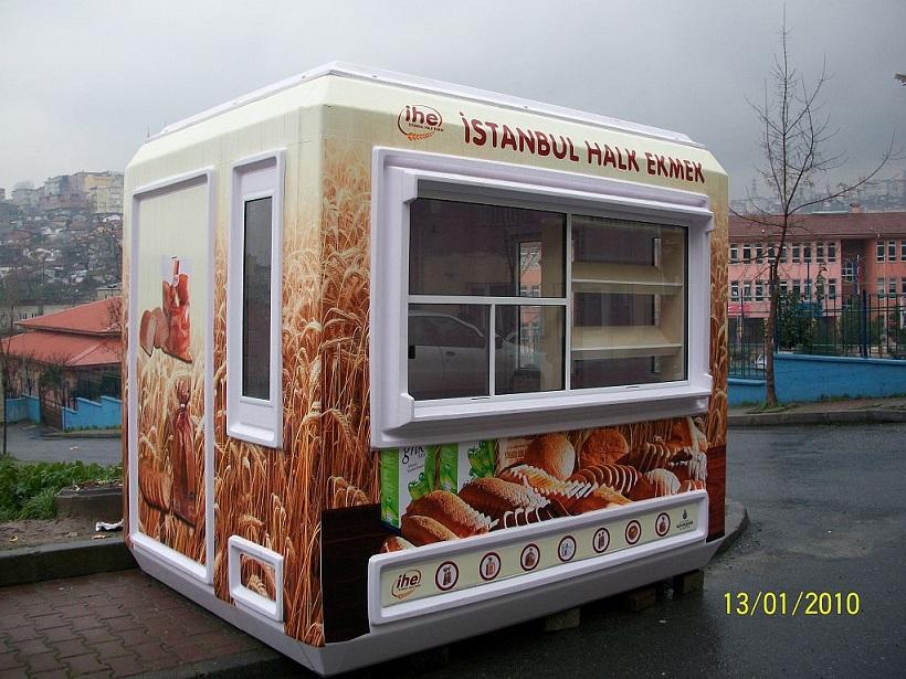 bread selling kiosk