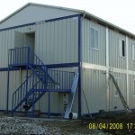 construction site container building
