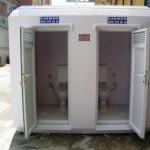 Fiberglass Portable WC Cabin