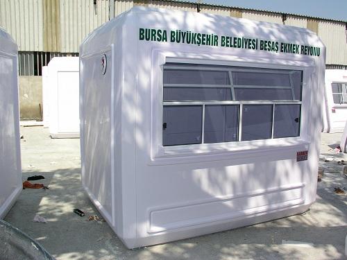 Kiosques en bois préfabriqués