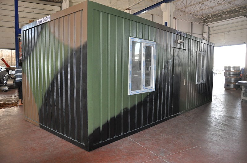 Shelters and military containers