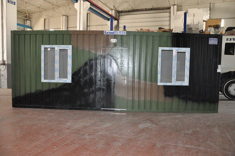 military container housing