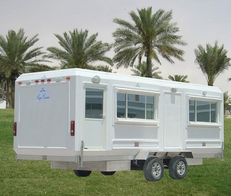 mobile security guard booths