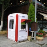 polyester security cabins