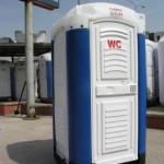 Polyester Toilet Cabin