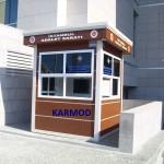 portable kiosk building