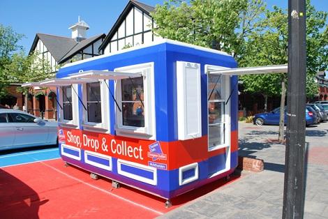 Portable Kiosks booths