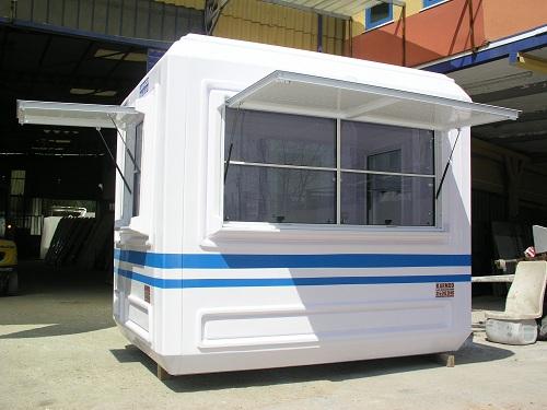 Postes de garde modulaire