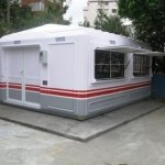 pre fabricated guard booth