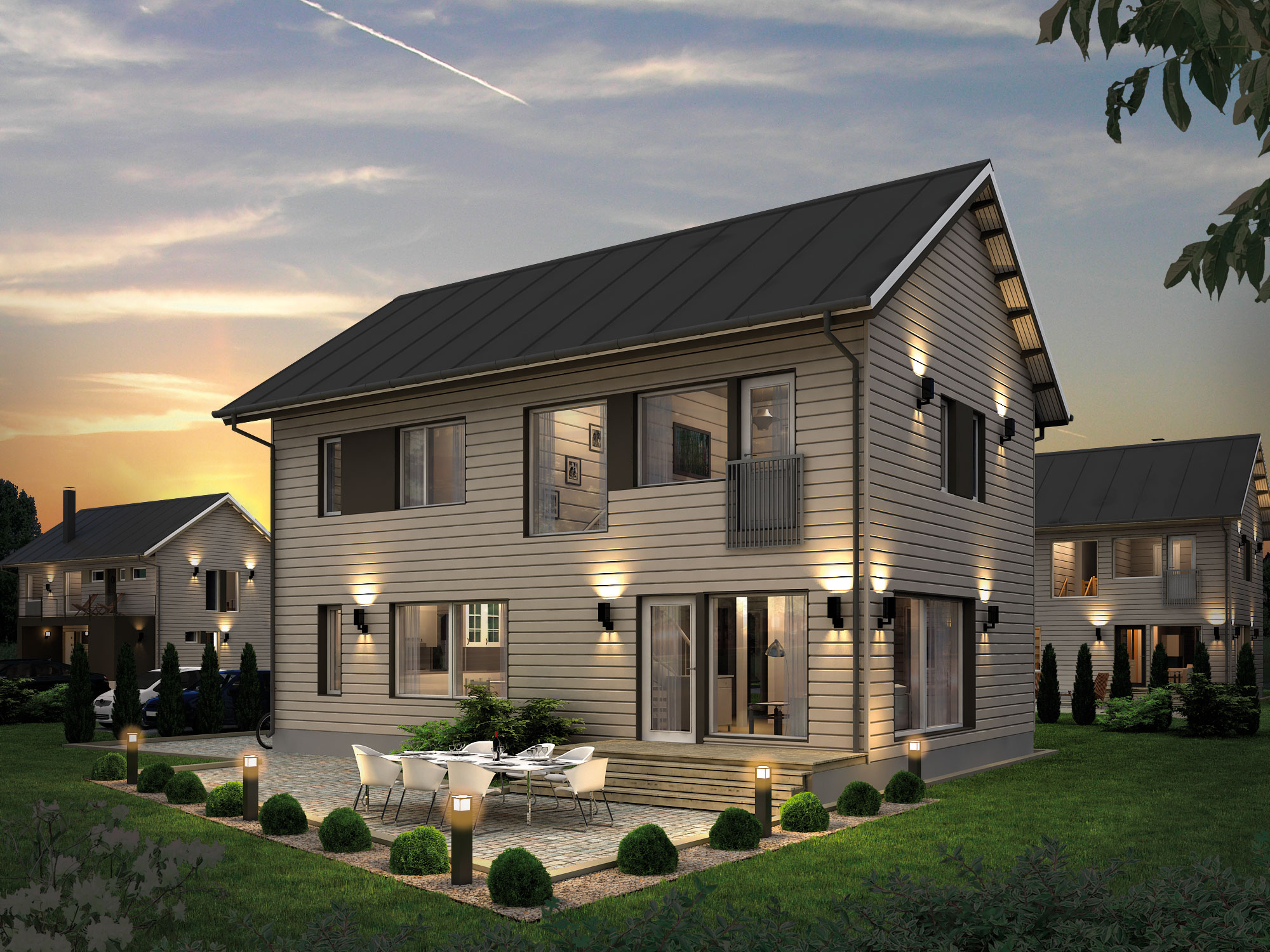 Prefab homes and modern prefabricated panelized home - Average price of a modular home ...