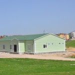 prefabricated single-storey building
