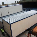 prefabricated living containers