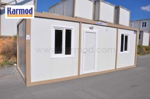 flat pack steel storage containers