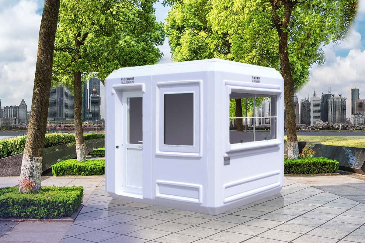 Guard Booths | Prefabricated Security Guard Booths