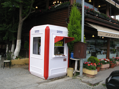 buildings guard booths