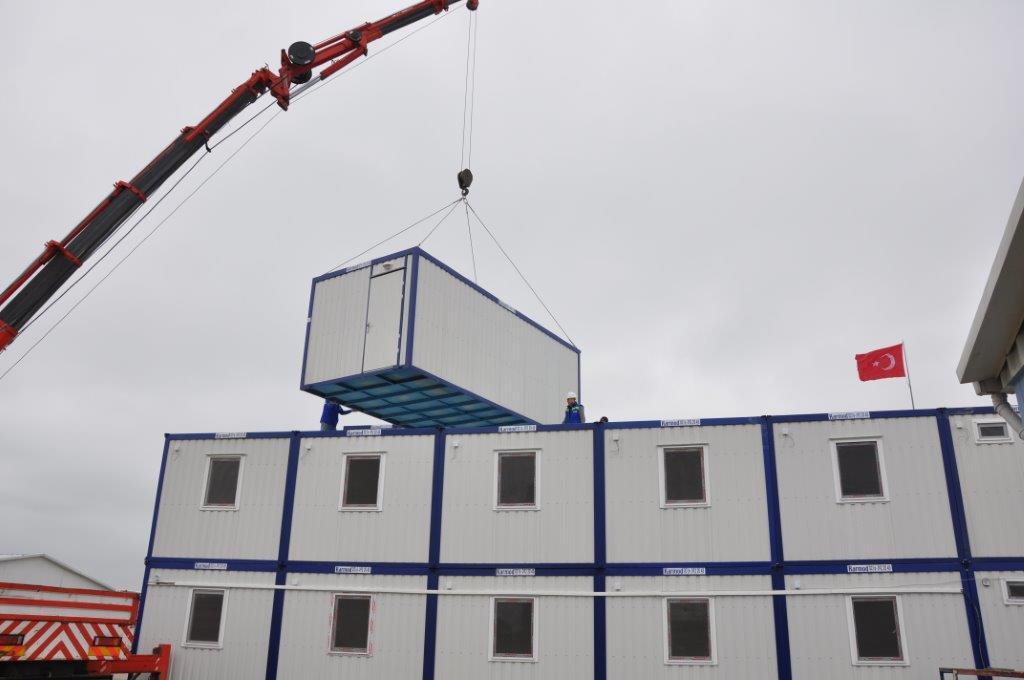 Container in Kazakhstan